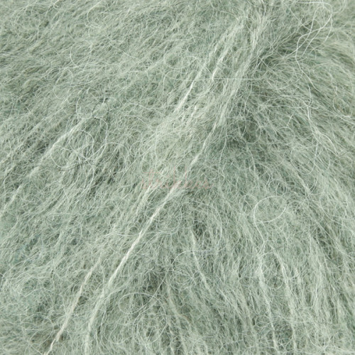 Drops Brushed Alpaca Silk UNI 21 salvie grøn