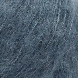 Drops Brushed Alpaca Silk UNI 25 stålblå