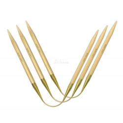 Addi CraSyTrio LONG bambus strømpepind 30cm, 5mm