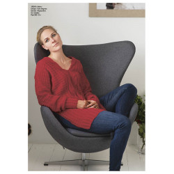"Image of   ""halm"" genser - viking design 1926-8 kit - xs-xl - viking alpaca"