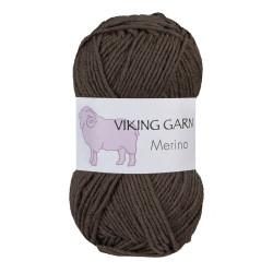Viking Merino. Farve 808 Brun