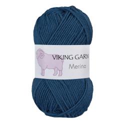 Viking Merino. Farve 828 Mørk blå