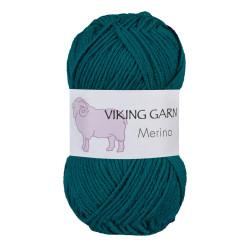 Viking Merino. Farve 830 Søgrøn