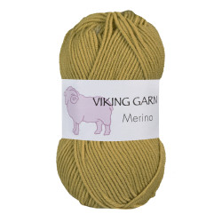 Viking Merino. Farve 831 Gulgrøn