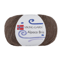Viking Alpaca Bris. Farve 308 Brun