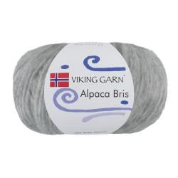 Viking Alpaca Bris. Farve 313 Lys grå