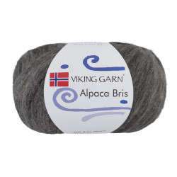 Viking Alpaca Bris. Farve 315 Grå