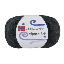 Viking Alpaca Bris. Farve 317 Koksgrå