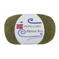 Viking Alpaca Bris. Farve 335 Grøn
