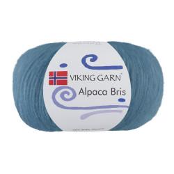 Viking Alpaca Bris. Farve 326 Lys jeansblå