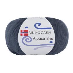 Viking Alpaca Bris. Farve 327 Jeansblå