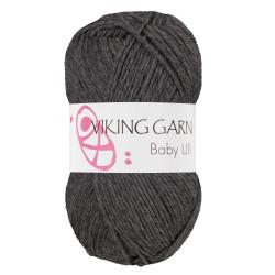 Viking Baby ull 315 mørk grå