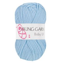 Viking Baby ull 324 mellemblå