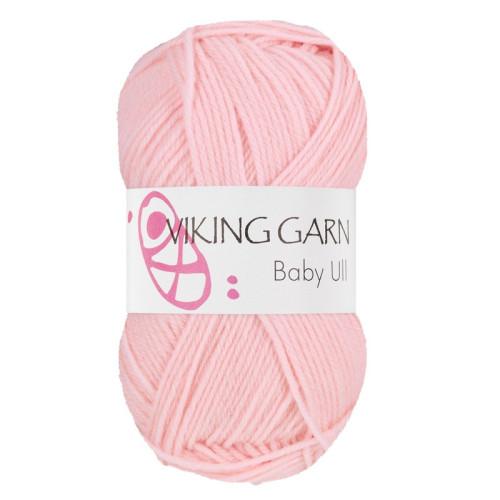 Viking Baby ull 364 lys rosa