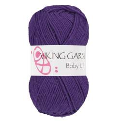 Viking Baby ull 371 mørk lilla