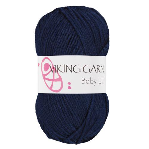 Viking Baby ull 326 marineblå