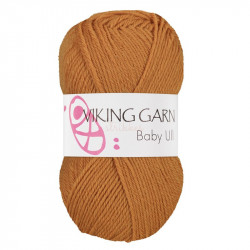 Viking Baby ull 375 okkergul