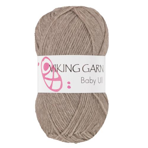 Viking Baby ull 309 mørk beige