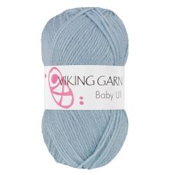 Viking Baby ull 322 lys jeansblå