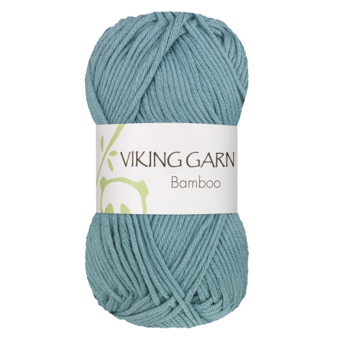 Viking Bamboo, farve 628 petrol