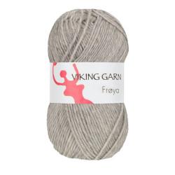 Viking Frøya. Farve 203, Lys grå