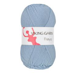 Viking Frøya. Farve 207, Lys blå