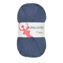 Viking Frøya. Farve 225, Jeansblå