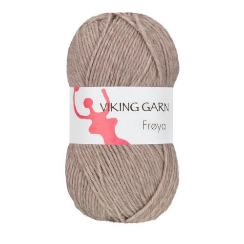 Viking Frøya. Farve 281, Lys brun