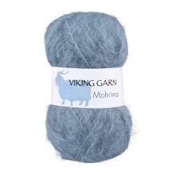 Viking Mohrino. Farve 521 Lys gråblå