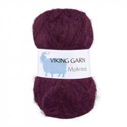 Viking Mohrino. Farve 570 Burgunder
