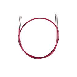 Addi Click lace Kabel/wire til udskiftelig rundpinde, 50 cm