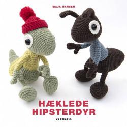 Hæklede hipsterdyr, bog af Maja Hansen