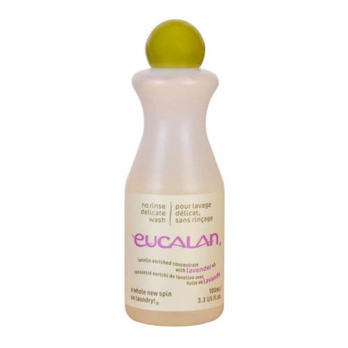 Uldvask Eucalan med lanolin & lavendel. 100ml