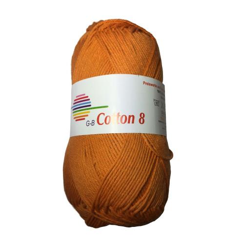 Cotton 8. Farve 1814, mango