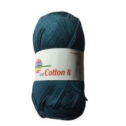 Cotton 8. Farve 1525, petrol