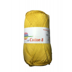 Cotton 8. Farve 1472, majsgul