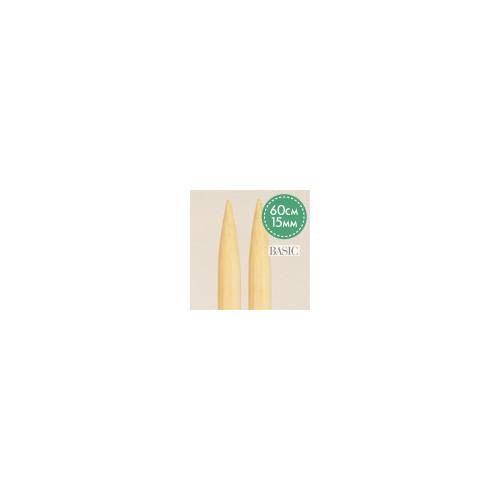 Rundpind birketræ 60 cm, 12 mm, drops basis