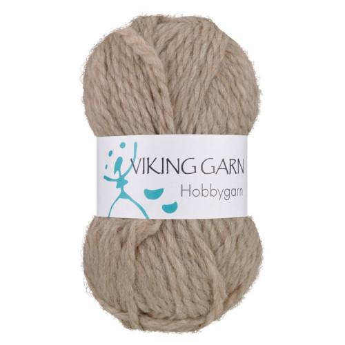 Viking Hobbygarn. Farve 907, beige