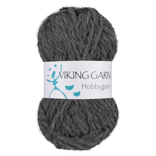 Viking Hobbygarn. Farve 915, grå