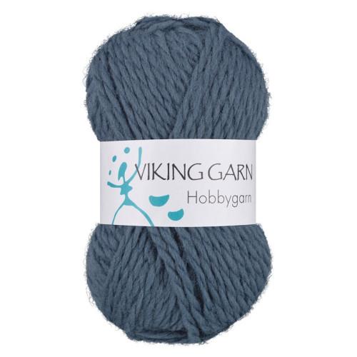 Viking Hobbygarn. Farve 927, blå