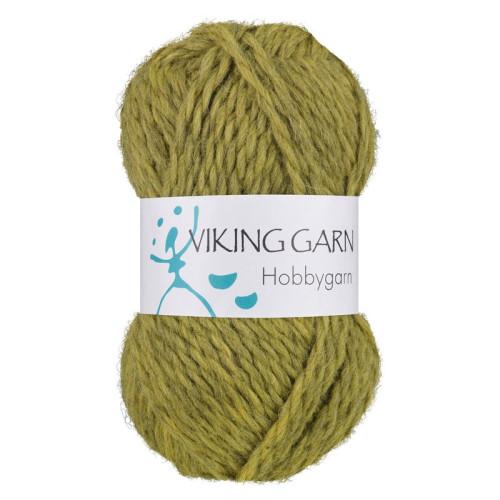 Viking Hobbygarn. Farve 934, grøn