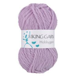 Viking Hobbygarn. Farve 967, lys lilla