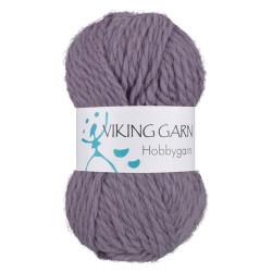 Viking Hobbygarn. Farve 968, lilla