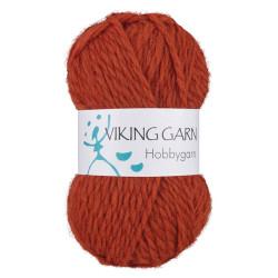 Viking Hobbygarn. Farve 953, orange