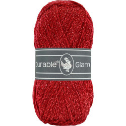 Durable Glam, farve 316 Red