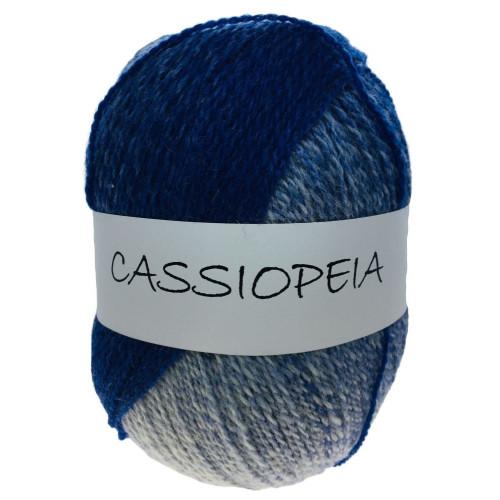 Cassiopeia blå/hvid 08