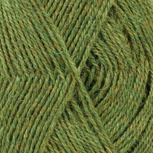 Drops Alpaca MIX farve 7238 græsgrøn