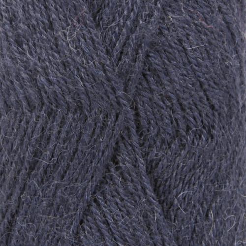 Drops Alpaca UNI farve 4305 mørk indigo