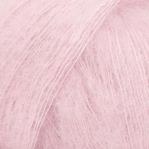 Drops kid-silk UNI farve 03 lys rosa