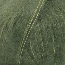 Drops kid-silk UNI farve 19 mørkegrøn